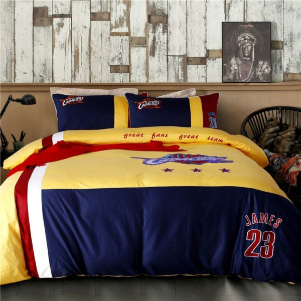 Cleveland Cavaliers Bedding Set LeBron James NBA Twin Queen Size 1