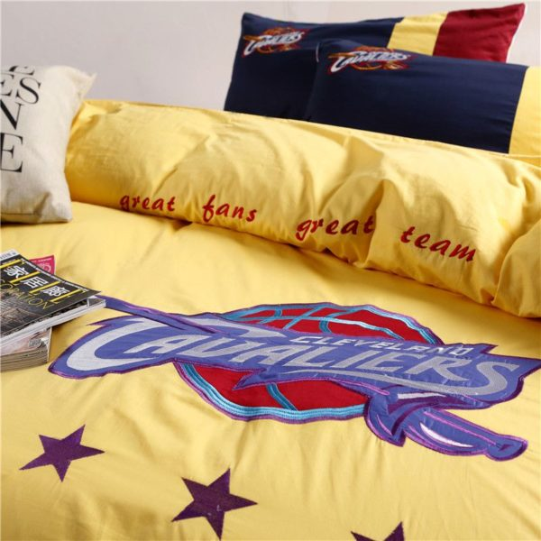 Cleveland Cavaliers Bedding Set LeBron James NBA Twin Queen Size 3