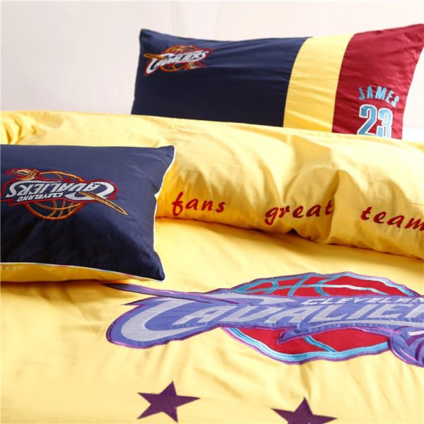 Cleveland Cavaliers Bedding Set LeBron James NBA Twin Queen Size 4