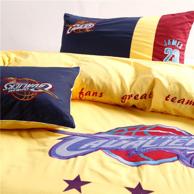 Cleveland Cavaliers Bedding Set Lebron James Nba Twin
