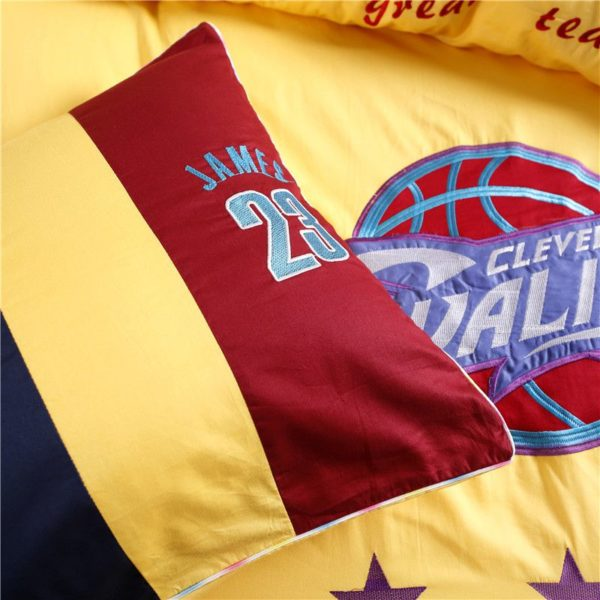 Cleveland Cavaliers Bedding Set LeBron James NBA Twin Queen Size 5