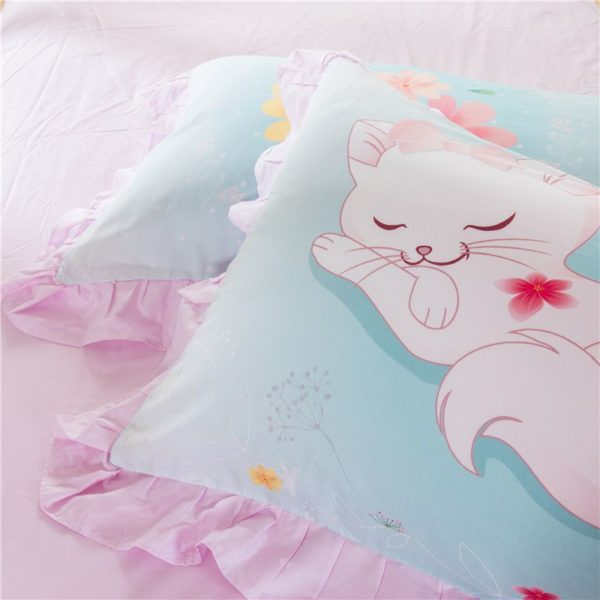Cute Sleeping Cat Bedding Set GTZ 7
