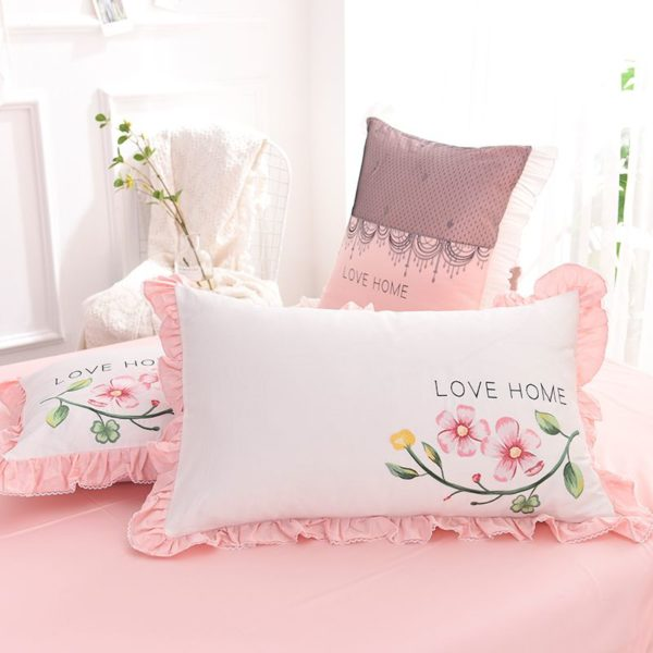 Exquisite Pink White Embroidery Bedding Set 13 600x600 - Exquisite Pink & White Embroidery Bedding Set