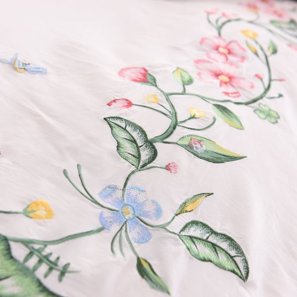 Exquisite Pink White Embroidery Bedding Set 6 600x600 - Exquisite Pink & White Embroidery Bedding Set