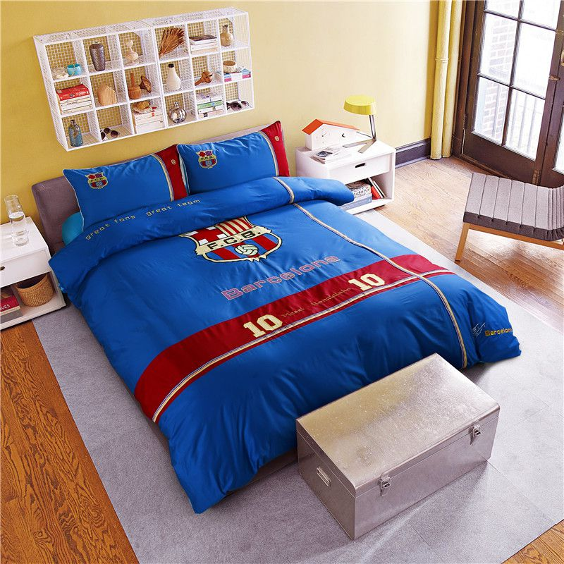 Fc Barcelona Bedding Set Twin Queen Size Ebeddingsets