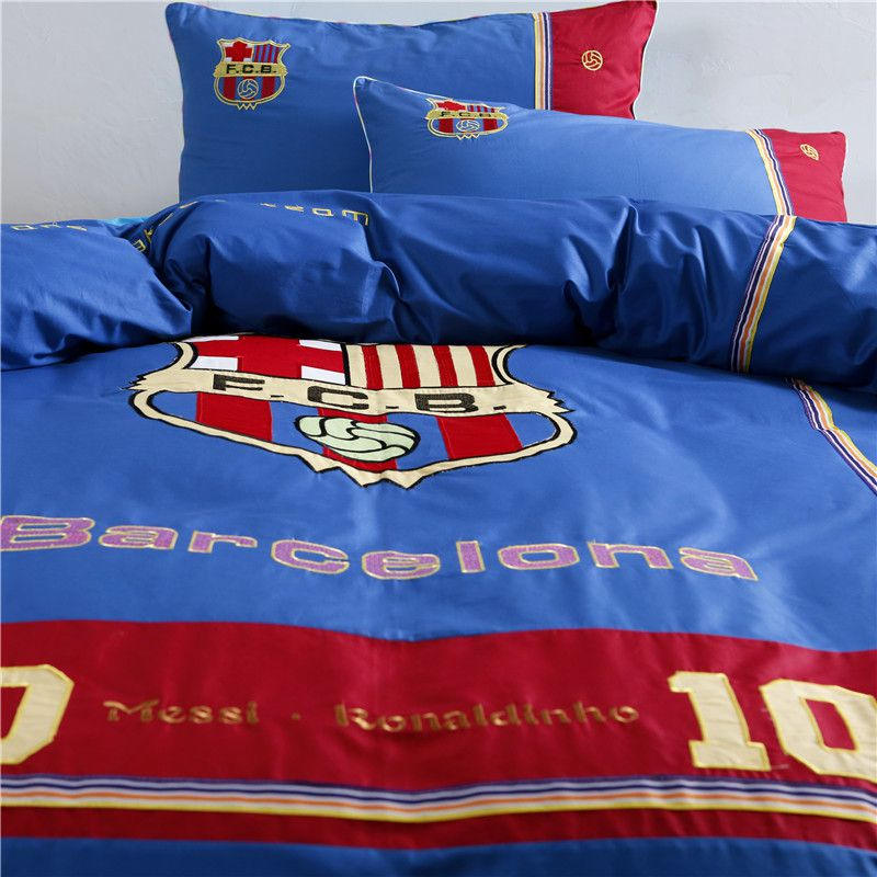 Fc Barcelona Twin Bed Set