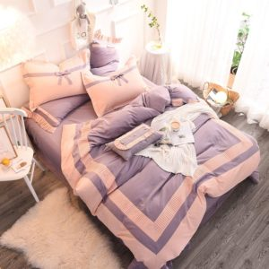 Graceful Light Purple Egyptian Cotton Embroidery Bedding Set 1 300x300 - Graceful Light Purple Egyptian Cotton Embroidery Bedding Set