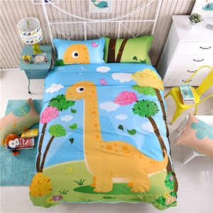 Kids Dinosaur Print Bedding Set Twin Queen Size LL 1 300x300 - Kids  Dinosaur Print Bedding Set Twin Queen Size LL