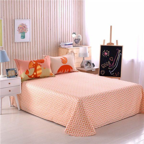 Kids Dragon Print Bedding Set Twin Queen Size HL 7
