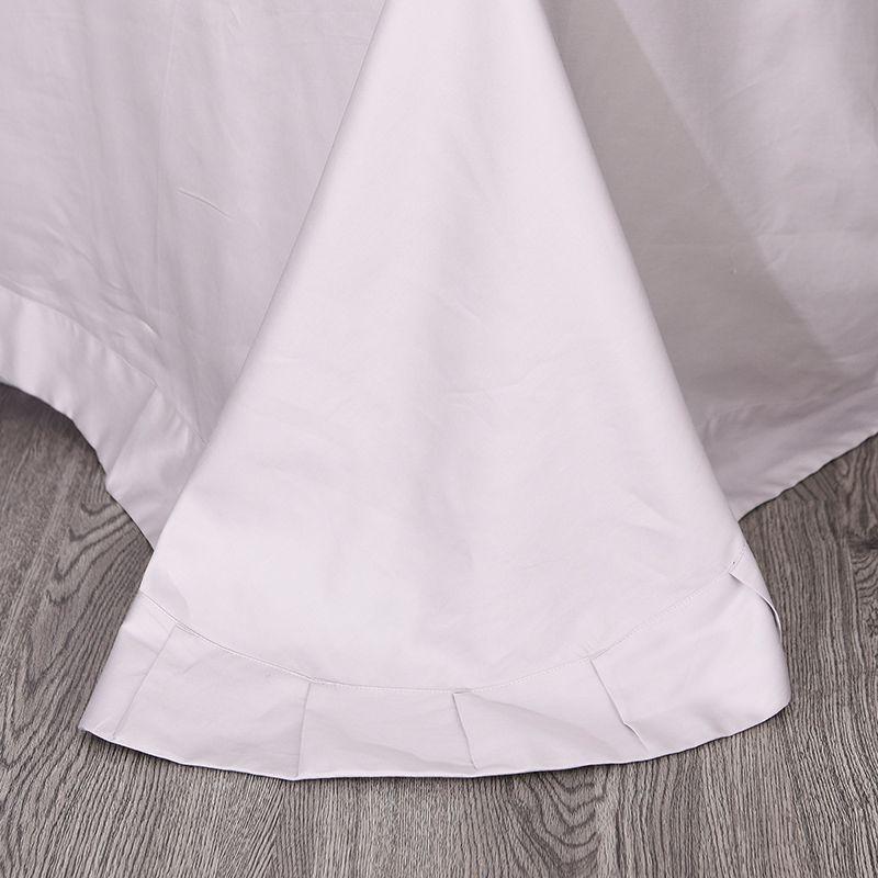 Luxurious White Egyptian Cotton Embroidery Bedding Set