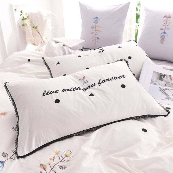 Luxurious White Egyptian Cotton Embroidery Bedding Set 9 600x600 - Luxurious White Egyptian Cotton Embroidery Bedding Set