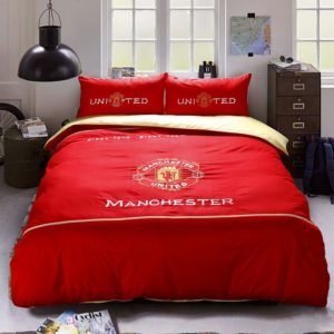 Manchester United F.C Bedding Set Twin Queen Size 1 300x300 - Manchester United F.C Bedding Set Twin Queen Size