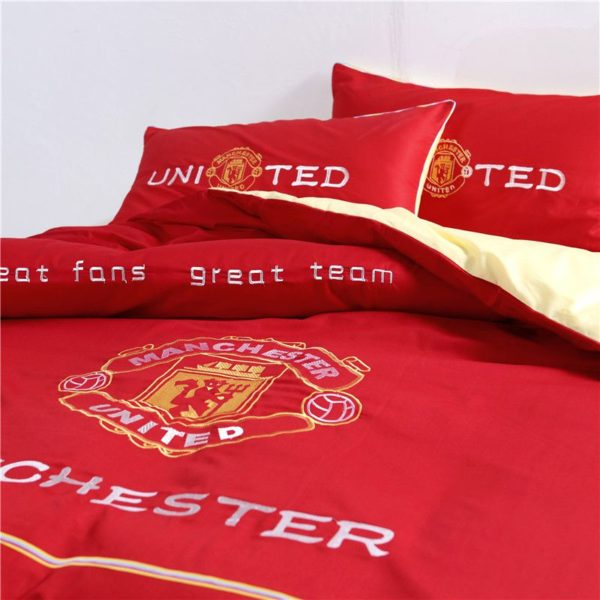 Manchester United F.C Bedding Set Twin Queen Size 4 600x600 - Manchester United F.C Bedding Set Twin Queen Size