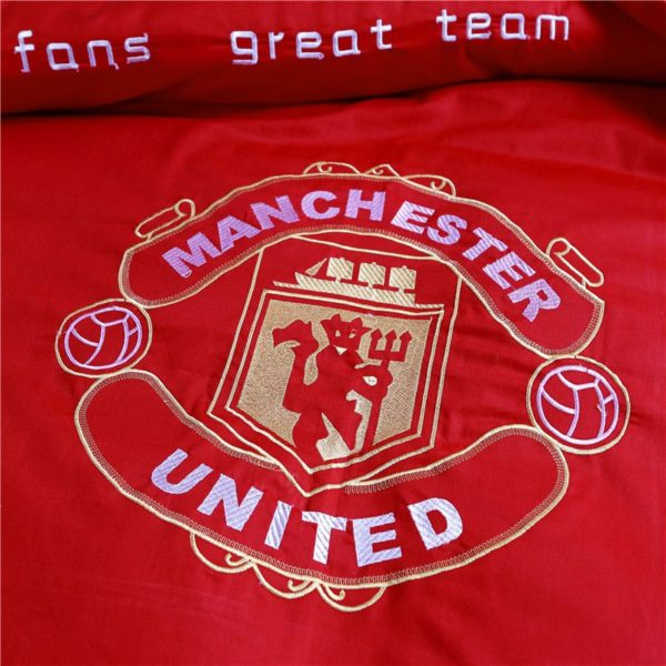 Manchester United F.C Bedding Set Twin Queen Size 5