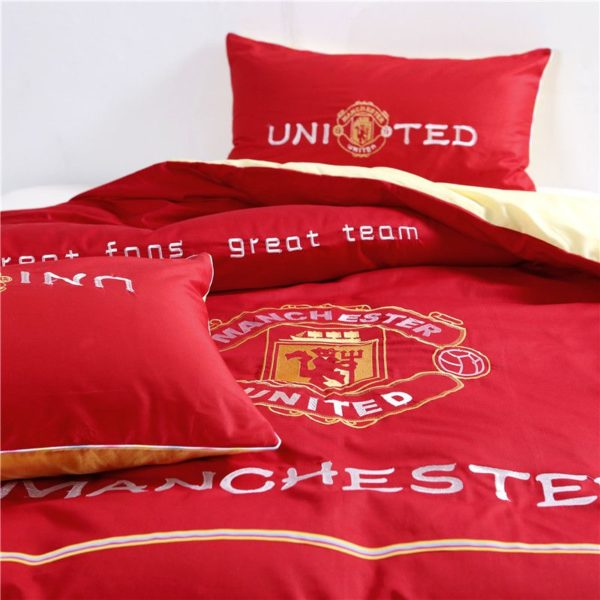 Manchester United F.C Bedding Set Twin Queen Size 6 600x600 - Manchester United F.C Bedding Set Twin Queen Size