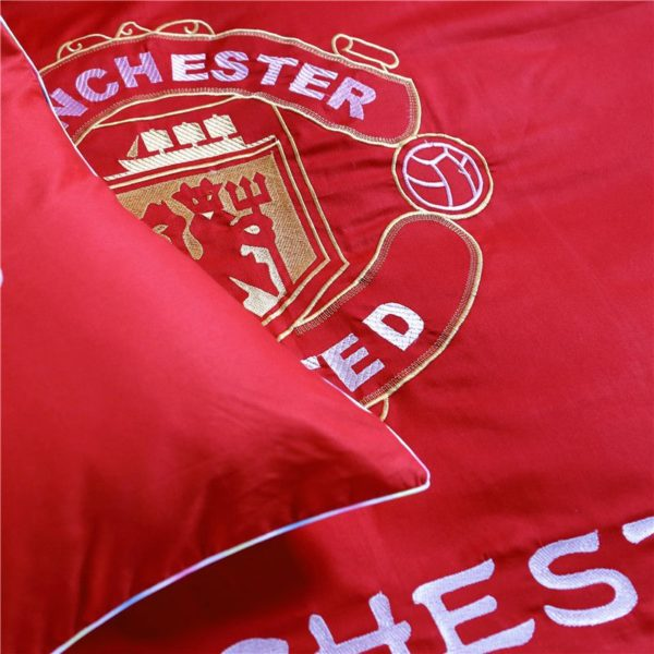 Manchester United F.C Bedding Set Twin Queen Size 7 600x600 - Manchester United F.C Bedding Set Twin Queen Size