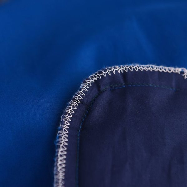 Mesmerizing Royal Blue Egyptian Cotton Embroidery Bedding Set 12