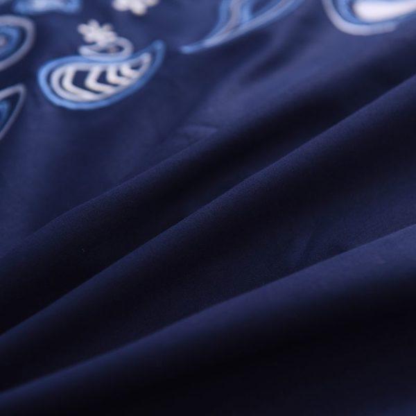 Mesmerizing Royal Blue Egyptian Cotton Embroidery Bedding Set 7 600x600 - Mesmerizing Royal Blue Egyptian Cotton Embroidery Bedding Set
