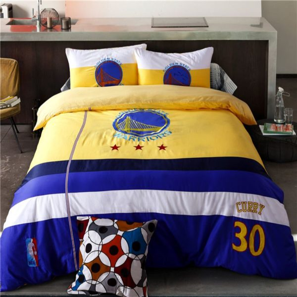 NBA Golden State Warriors Bedding Sets Twin Queen Size 1 600x600 - NBA Golden State Warriors Bedding Sets Twin Queen Size