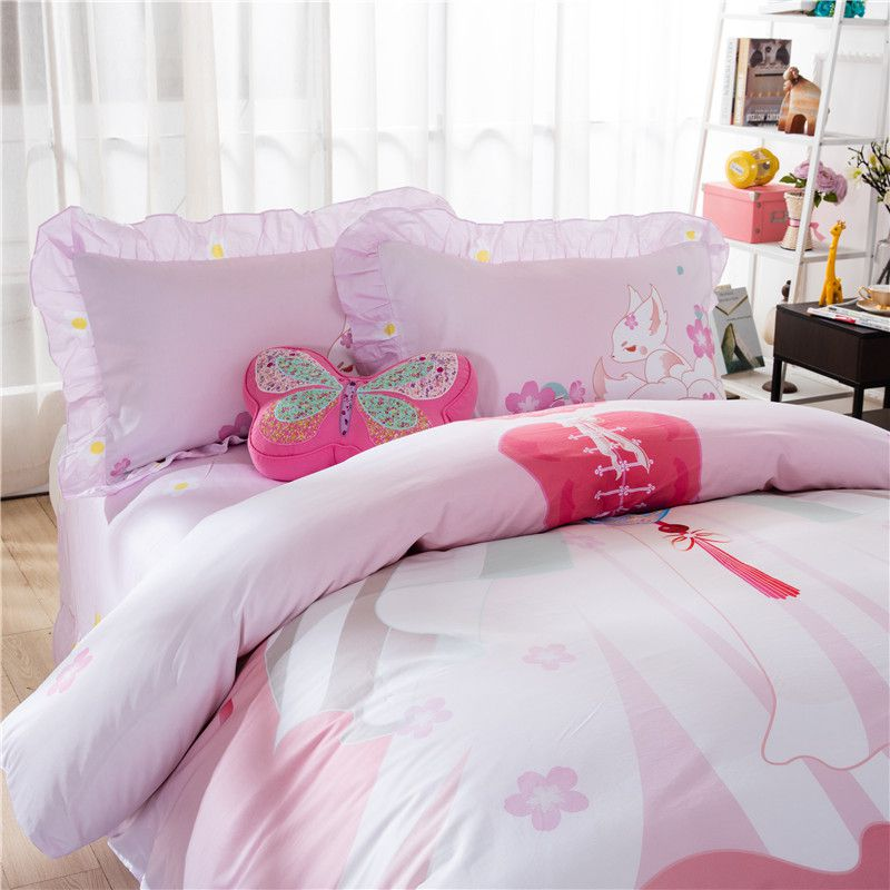 Pink Princess Themed Teen Kids Bedding Set Zgf Ebeddingsets