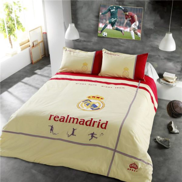 Real Madrid CF Bedding Set Twin Queen Size 1