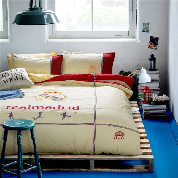 Real Madrid CF Bedding Set Twin Queen Size 2