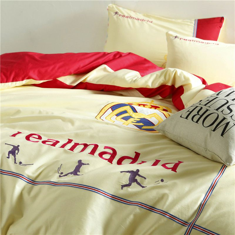 Real Madrid CF Bedding Set Twin Queen Size