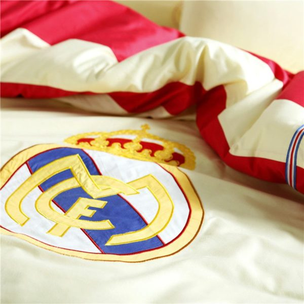 Real Madrid CF Bedding Set Twin Queen Size 6