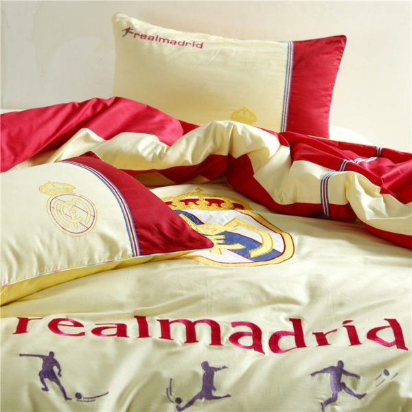 Real Madrid CF Bedding Set Twin Queen Size 8