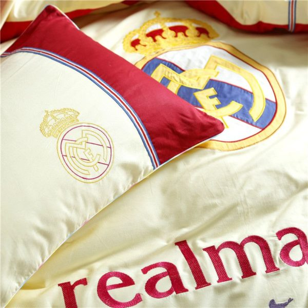 Real Madrid CF Bedding Set Twin Queen Size 9