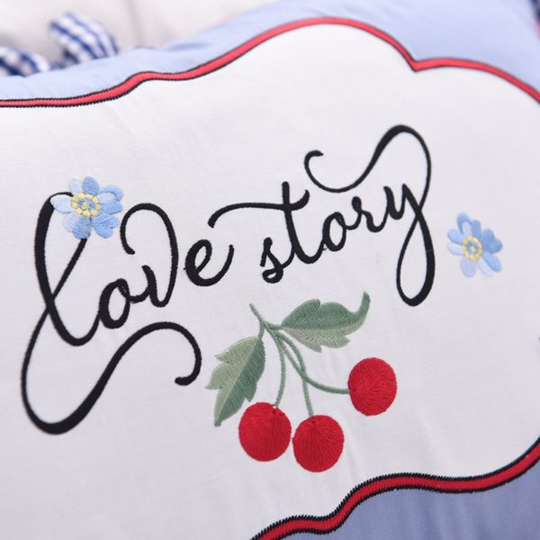 Romantic Love Story White Embroidery Bedding Set 5 600x600 - Romantic Love Story White Embroidery Bedding Set