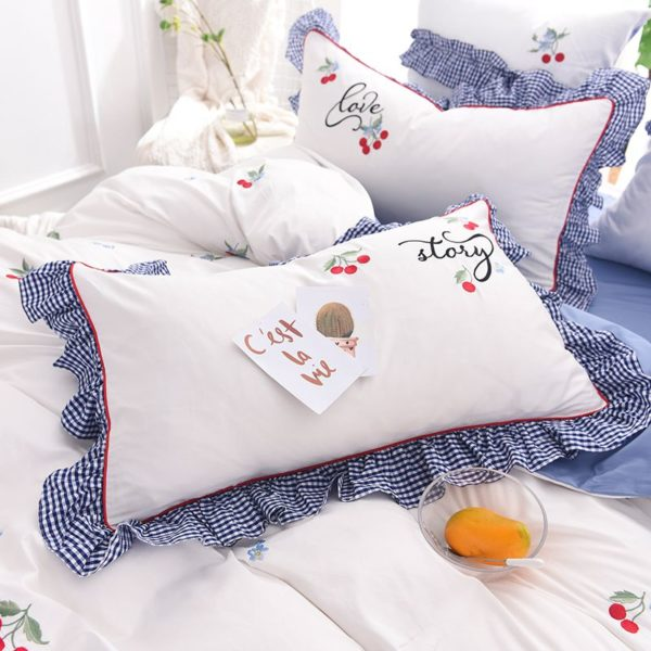 Romantic Love Story White Embroidery Bedding Set 6 600x600 - Romantic Love Story White Embroidery Bedding Set