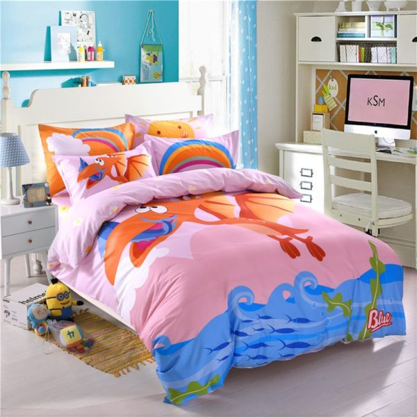 Teen Dragon Print Comforter Sets Twin Queen Size YSL 3
