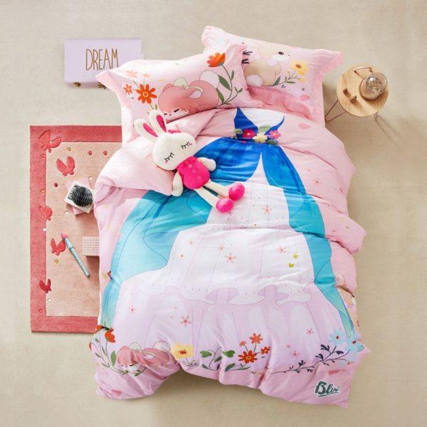 Teen Girls Princess Bedding Set KQGZ 1