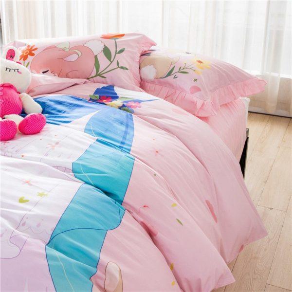 Teen Girls Princess Bedding Set KQGZ 2
