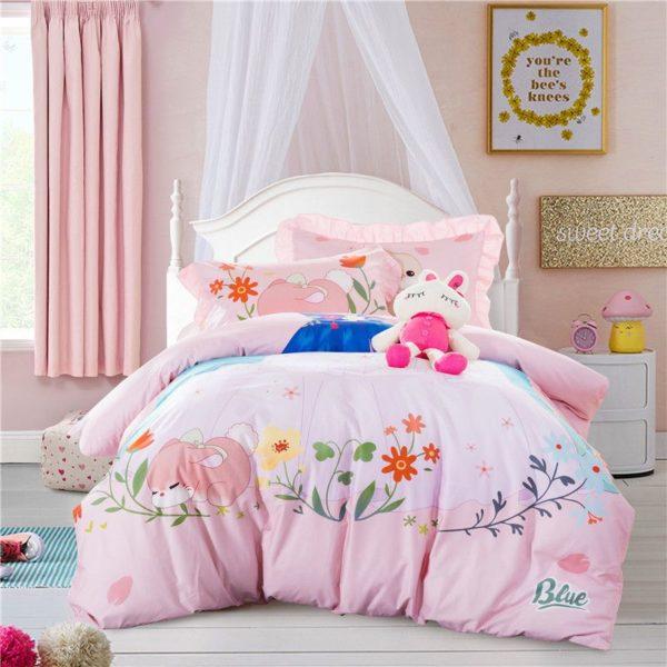 Teen Girls Princess Bedding Set KQGZ 6