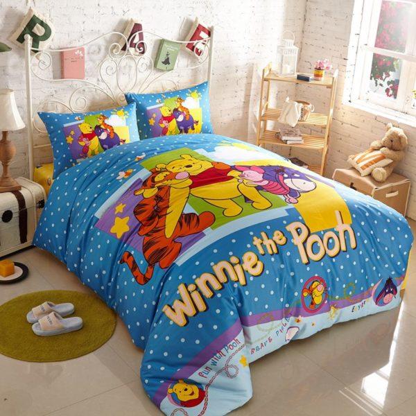 Attractive Winnie and Friends Bedding Set