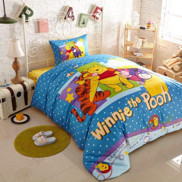 Attractive Winnie And friends Bedding Set 9 600x600 - Attractive Winnie and Friends Bedding Set