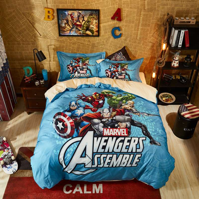 Avengers Assemble Super Heroes Bedding Set Ebeddingsets