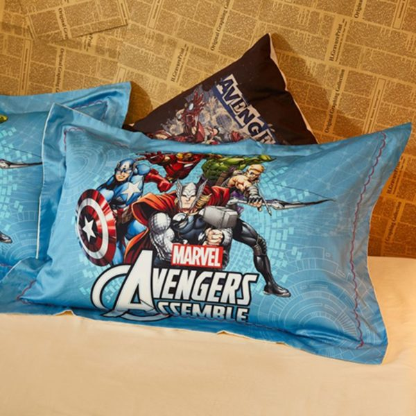 Avengers Assemble Super Heroes Bedding Set 3