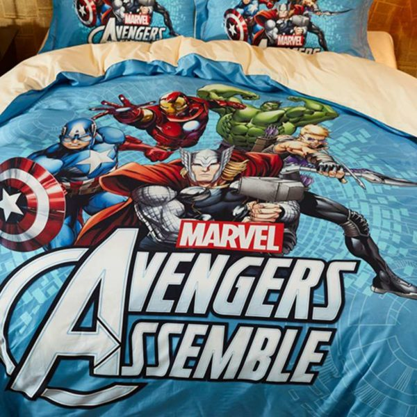 Avengers Assemble Super Heroes Bedding Set 4