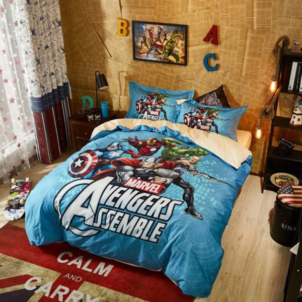 Avengers Assemble Super Heroes Bedding Set 5