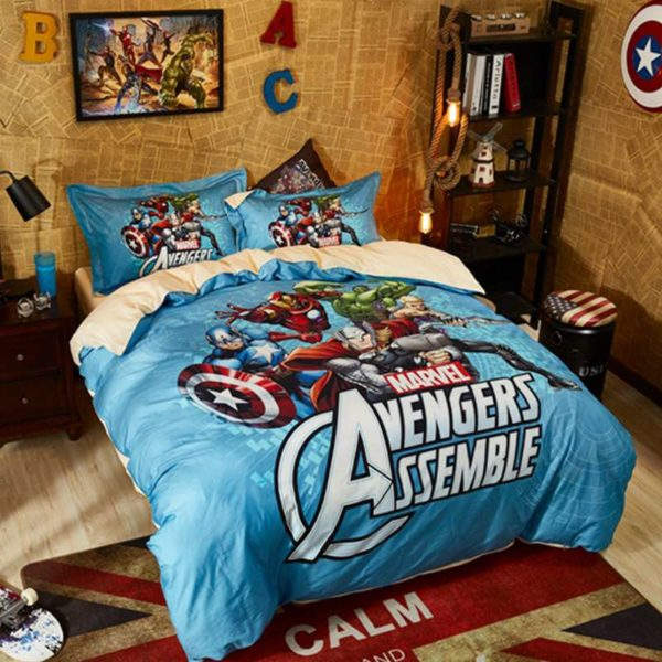 Avengers Assemble Super Heroes Bedding Set 6