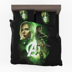 Avengers Infinity War Black Widow Black Panther Hulk Okoye Comforter Set