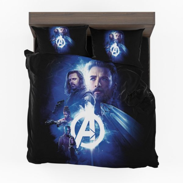 Avengers Nebula Winter Soldier Captain America Shuri Mantis Bedding Set
