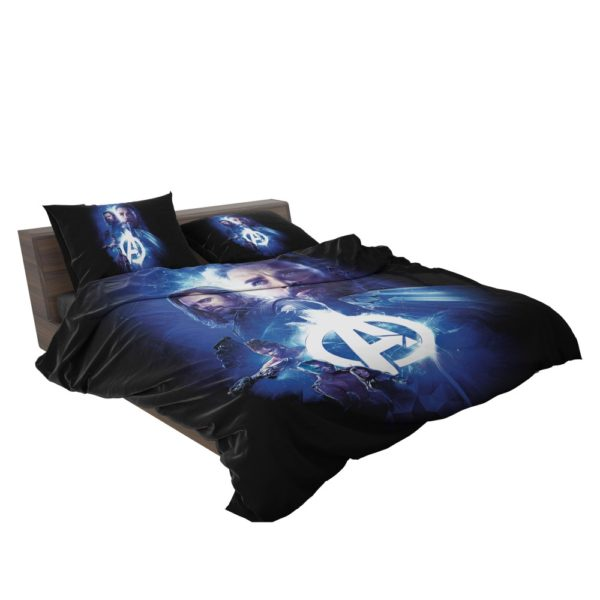 Avengers Nebula Winter Soldier Captain America Shuri Mantis Bedding Set 2