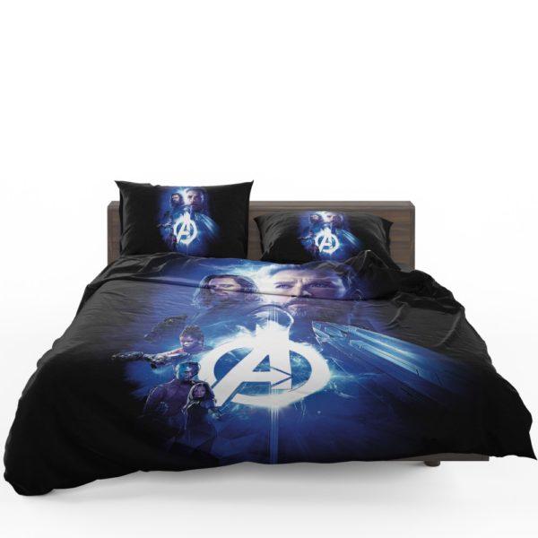 Avengers Nebula Winter Soldier Captain America Shuri Mantis Bedding Set 3