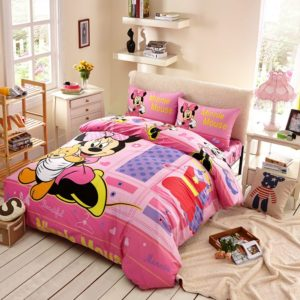 Beautiful Minnie Mouse Bedding Set Twin Queen Size 1 300x300 - Beautiful Minnie Mouse Bedding Set Twin Queen Size