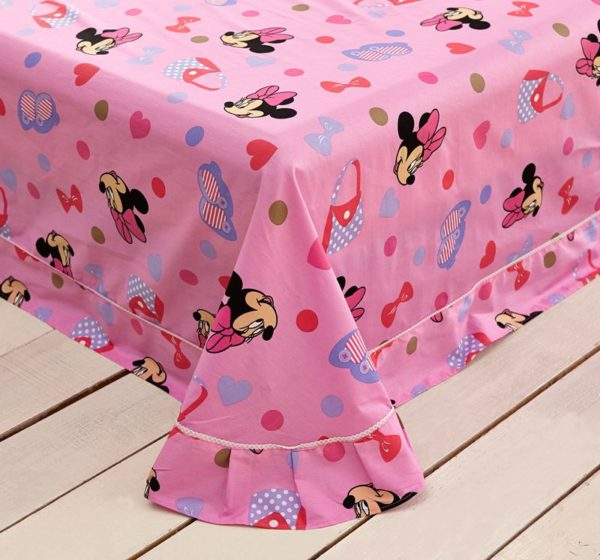 Beautiful Minnie Mouse Bedding Set Twin Queen Size 7