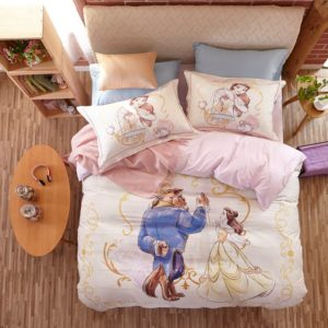 Beauty and the Beast Bedding Set for Adults Twin Queen Size